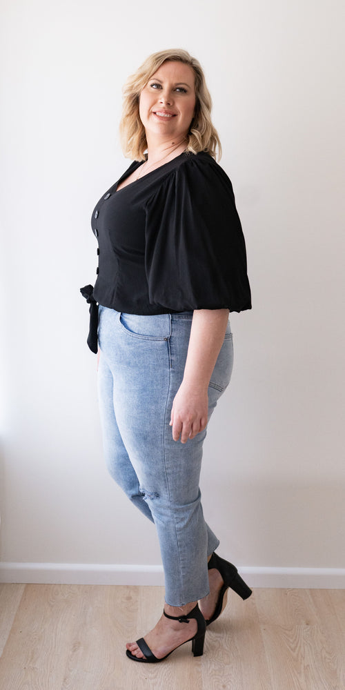 Melody top - black