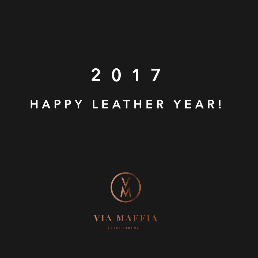 Via Maffia / 2017, HAPPY NEW YEAR!