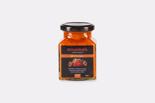 Medium Fire Roasted Pepper Sauce - Ntsama's Chilli Oil and Sauces