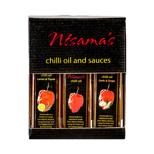 Chilli Oil Gift Set - Ntsama's Chilli Oil and Sauces