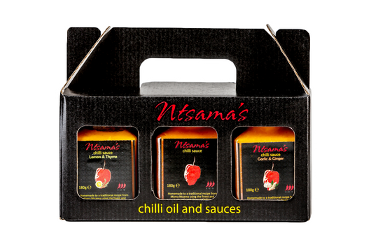 Chilli Sauce Gift Set - Ntsama's Chilli Oil and Sauces
