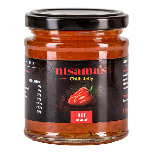 Chilli Jelly Hot - Ntsama's Chilli Oil and Sauces