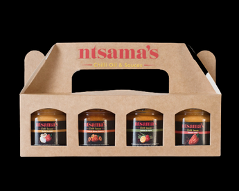 Chilli Sauce Mini Taster Set - Ntsama's Chilli Oil and Sauces