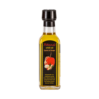 Garlic and Ginger Oil - Ntsama's Chilli Oil and Sauces