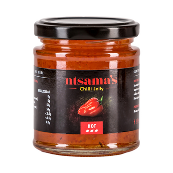 Hot Chilli Jelly - Ntsama's Chilli Oil and Sauces