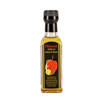 Lemon and Thyme Oil - Ntsama's Chilli Oil and Sauces