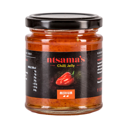 Medium Chilli Jelly - Ntsama's Chilli Oil and Sauces