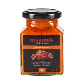 Fire Roasted Pepper Sauce - Ntsama's Chilli Oil and Sauces