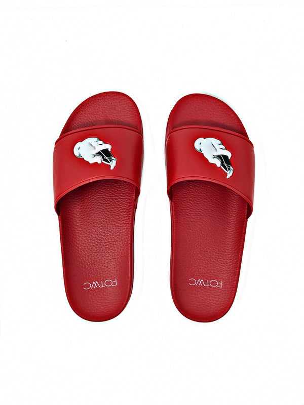 Slide Sandal Red