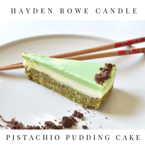 Pistachio Pudding Cake Scented Wax