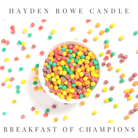 Breakfast of Champions Scented Wax
