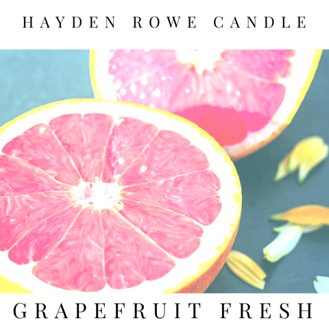 Grapefruit Fresh Scented Wax