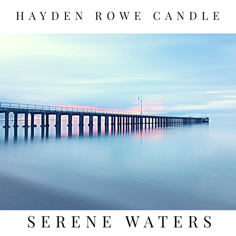 Serene Waters Scented Wax