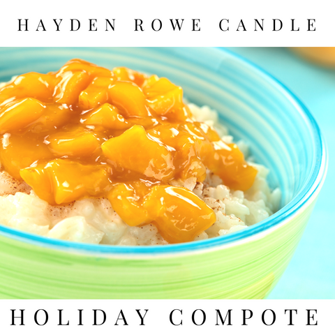 Pre-order Holiday Compote Scented Wax