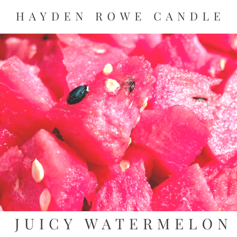 Juicy Watermelon Scented Wax