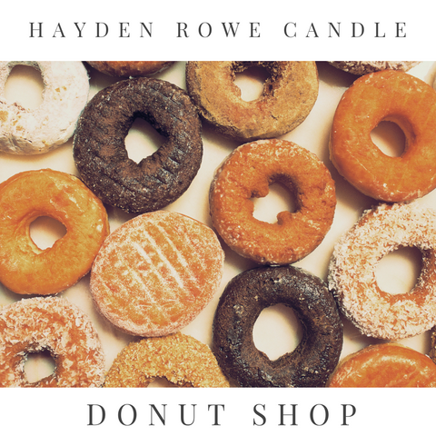 Donut Shop Scented Wax