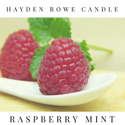 Raspberry Mint Scented Wax