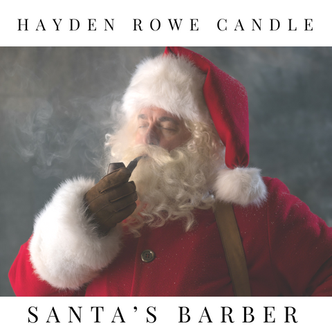 Santa's Barber Scented Wax