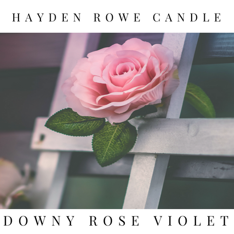 Downy Rose & Violet Type Scented Wax