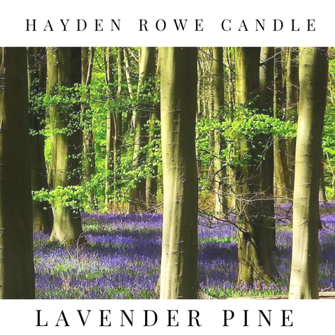 Lavender Pine Scented Wax