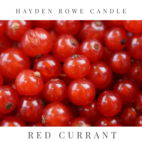 Red Currant Scented Wax