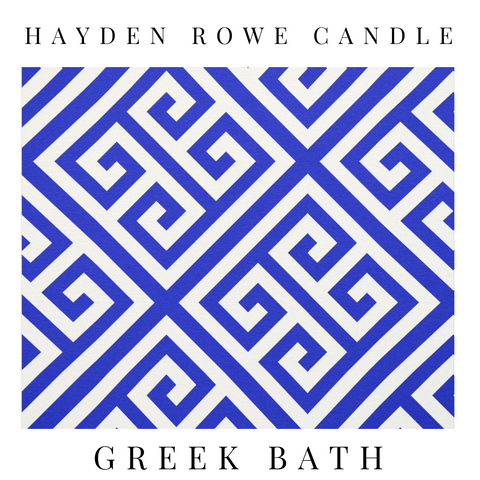 Greek Bath Scented Wax