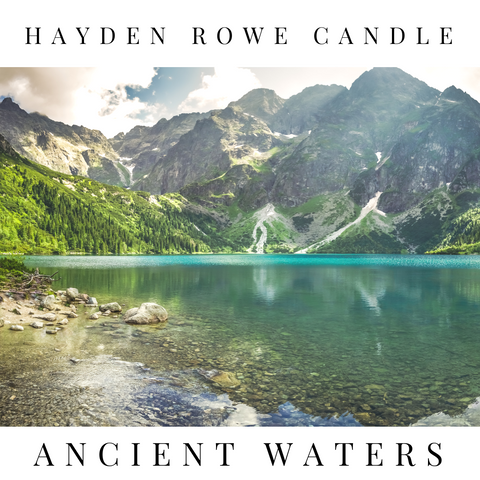 Ancient Waters Scented Wax