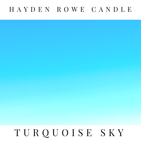 Turquoise Sky Scented Wax