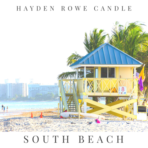 South Beach Scented Wax