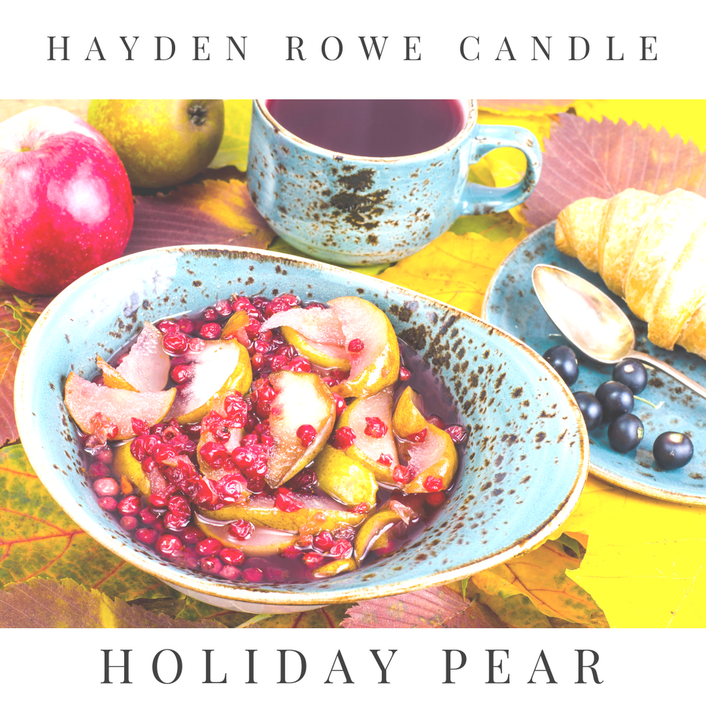 Holiday Pear Scented Wax