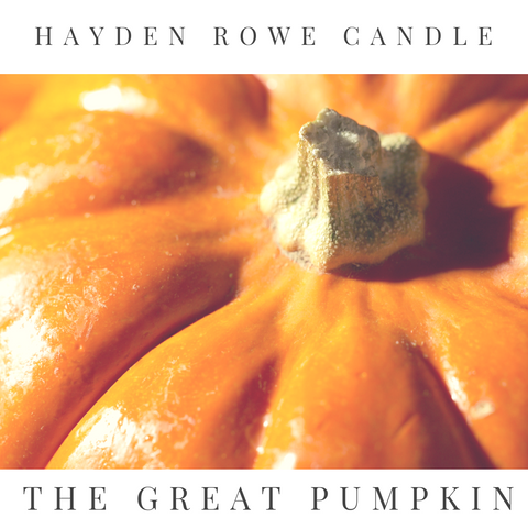 The Great Pumpkin Scented Wax