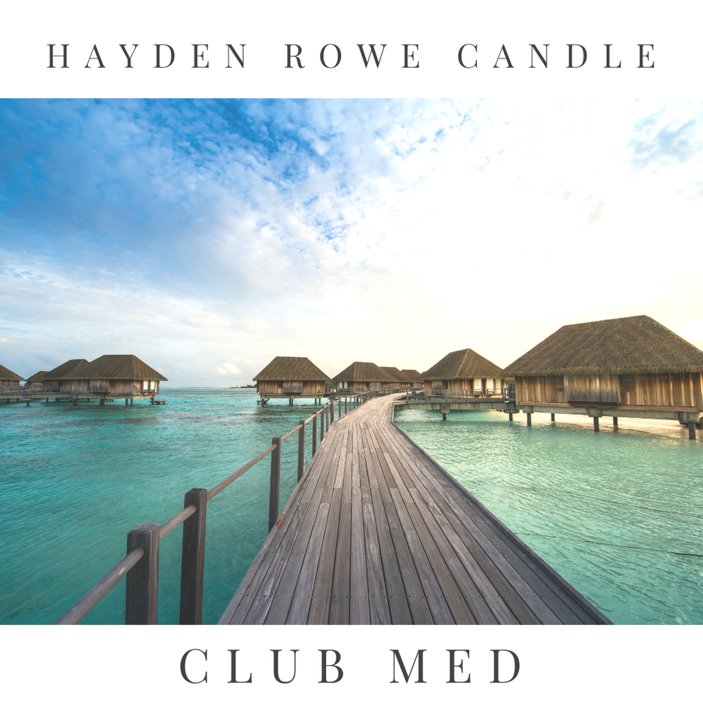 Club Med Scented Wax