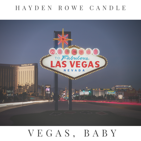 Vegas, Baby Scented Wax
