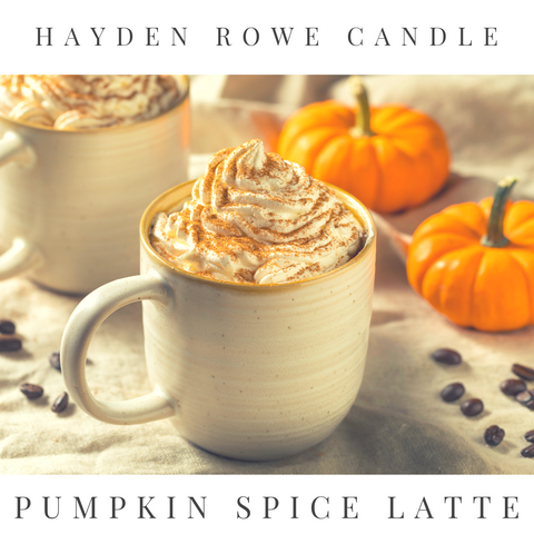 Pumpkin Spice Latte Scented Wax