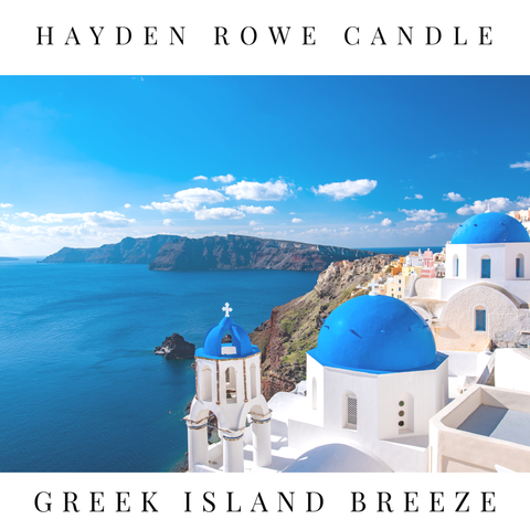 Greek Island Breeze Scented Wax