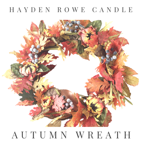 Autumn Wreath Scented Wax