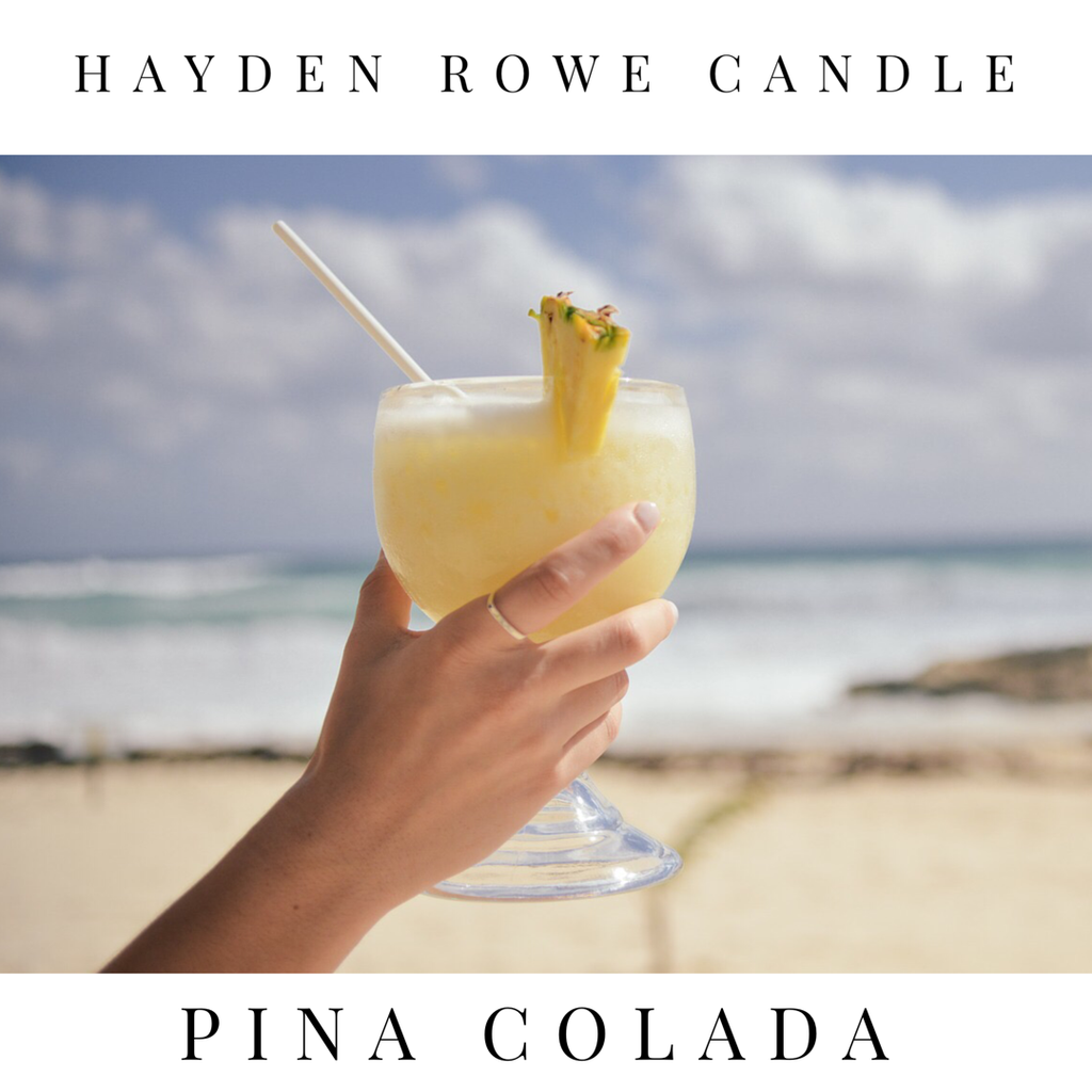 Pina Colada Scented Wax