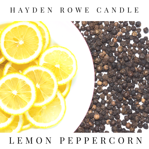 Lemon Peppercorn Scented Wax