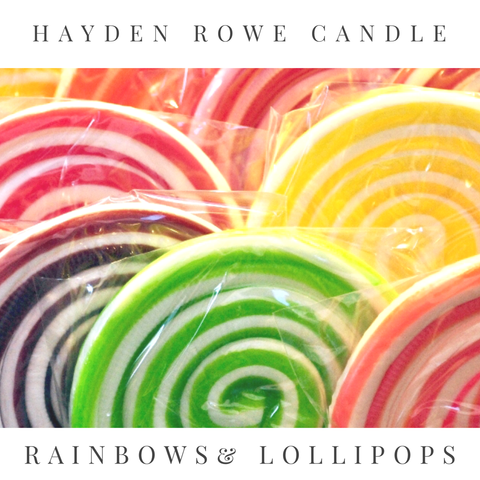 Rainbows and Lollipops Scented Wax
