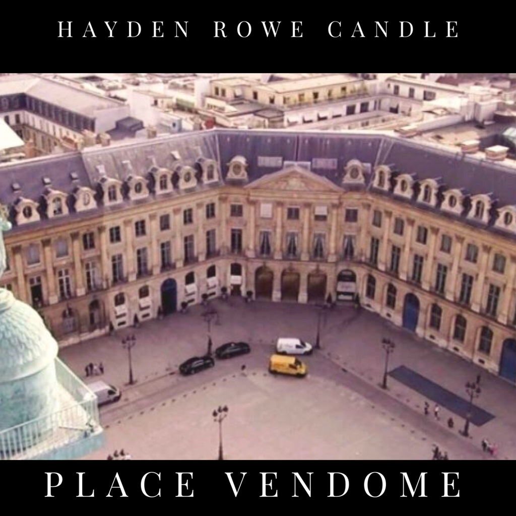 Place Vendôme-Black Label- Scented Wax
