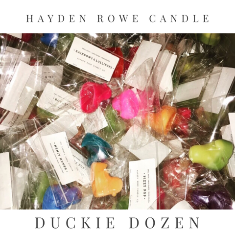 Duckie Dozen Scented Wax Melts