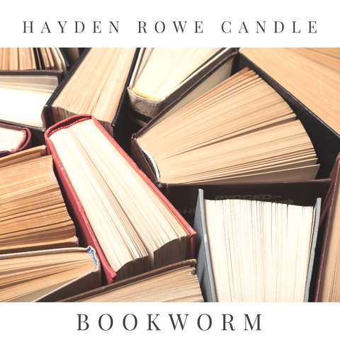 Bookworm Scented Wax