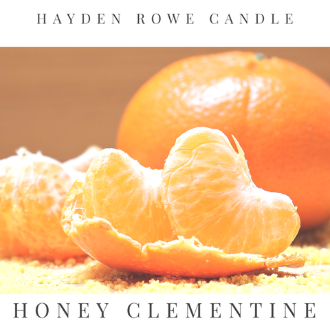 Honey Clementine Scented Wax