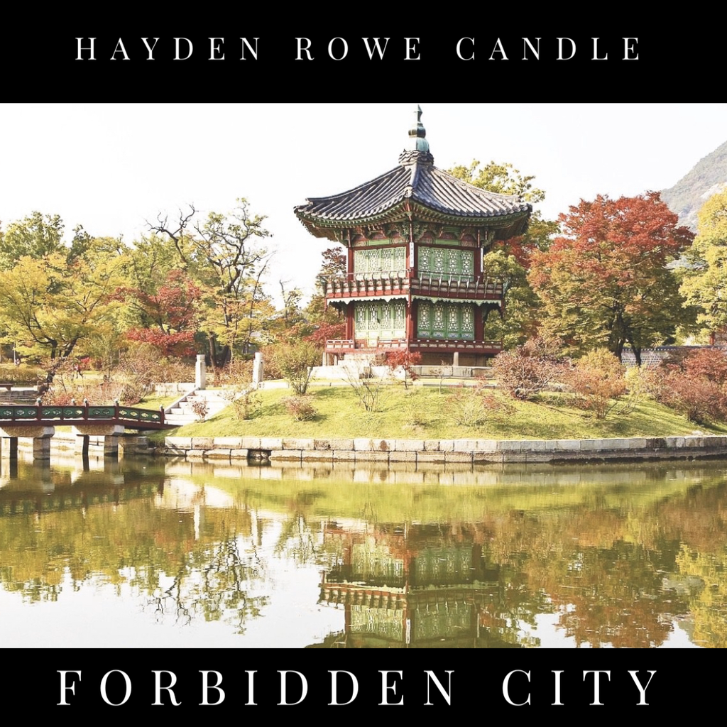 Forbidden City-Black Label- Scented Wax