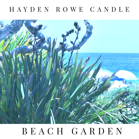 Beach Garden Scented Wax