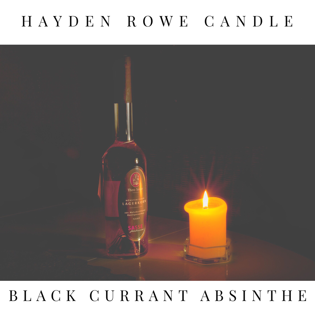 Black Currant Absinthe Scented Wax