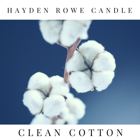 Clean Cotton Scented Wax