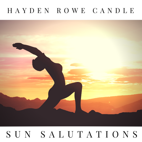 Sun Salutations Scented Wax