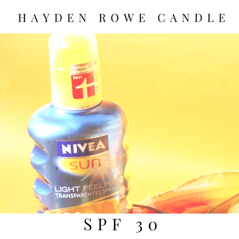 SPF 30 Scented Wax