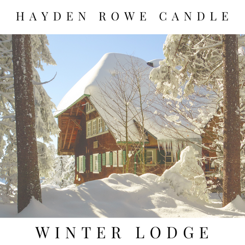 Winter Lodge Scented Wax
